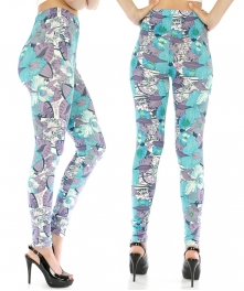 wholesale A28 Wynona Bermuda Buttercup leggings