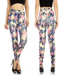 wholesale A04 Simplicity cotton pocket leggings BU M/L