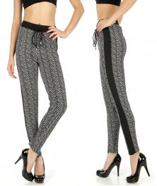Wholesale C36 Striped pull up pants fashionunic