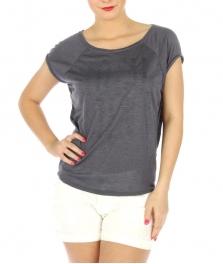 wholesale H09 Cotton raglan sleeve top Black