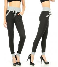 Wholesale E03 Colorblock jogger style leggings