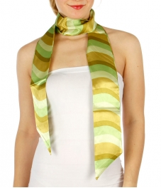 Wholesale G38A Soft Stripe Print Sash Belt GN