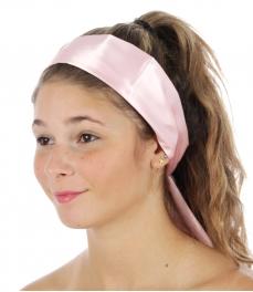 wholesale B21 Satin Tube Head Band L Pink fashionunic