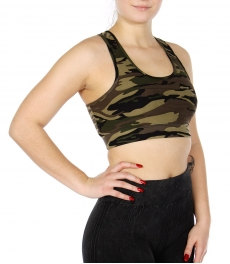 Wholesale L13 Camouflage sports bra