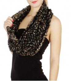 wholesale J10 Soft Feather yarn infinity BK fashionunic