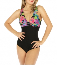 wholesale K24 Two tone one-piece swimsuit LM/PP