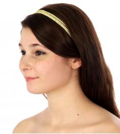 wholesale I71 Beaded headband Yellow fashionunic