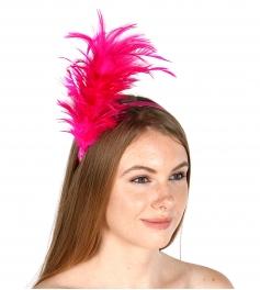 wholesale O49 Party feather fascinator Black fashionunic