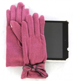 Wholesale M16 100% Wool bow magic touch glove