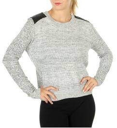 Wholesale G29 Marled sweater Black/Grey