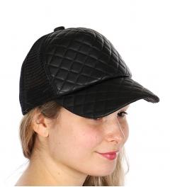 Wholesale R57D Quilted Snapback Cap BLK