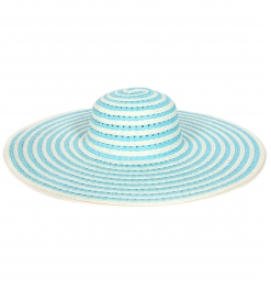 wholesale V21 Color Swirl Paper Hat Brown fashionunic