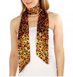 Wholesale G06C Leopard Print Sash Scarf GD