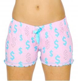 wholesale N13 Cotton pajama shorts Pink/Dollar fashionunic