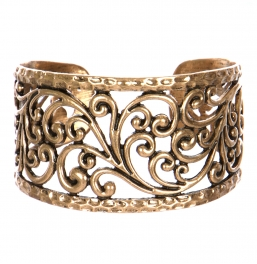 Wholesale L24D Cut out metal cuff RGB