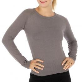 Wholesale G34 Solid crew neck sweater Black fashionunic