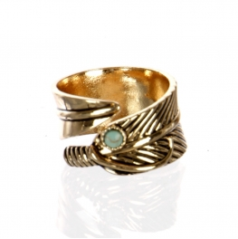 Wholesale L22D Feather ring AG