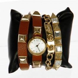 wholesale L14 1027 Arm candy watch Brown fashionunic