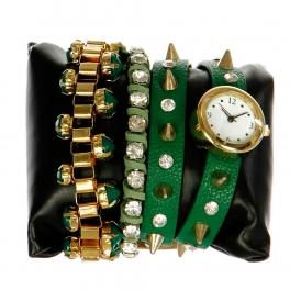 wholesale L14 1036 Arm candy watch Green fashionunic