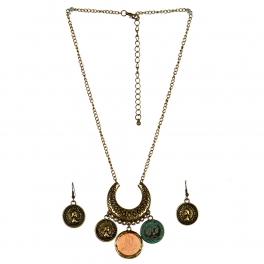 wholesale L14 JS1668GB-1 Necklace set fashionunic