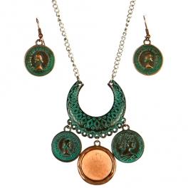 wholesale L14 JS1668OG-3 Necklace set fashionunic