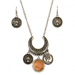 wholesale L14 JS1668SB-2 Necklace set fashionunic