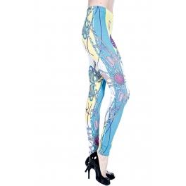 wholesale A07 Braided Tassel Printed leggings