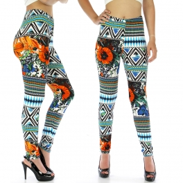 wholesale A13 Samoan Sea leggings fashionunic