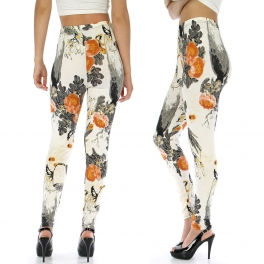 wholesale A26 Japanese Watercolor leggings fashionunic