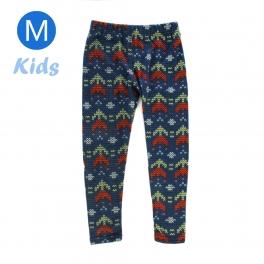 wholesale BX5 Double arrow fleece kids leggings M