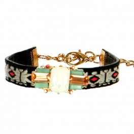 wholesale N45 Crystal accent bracelet GDWT fashionunic