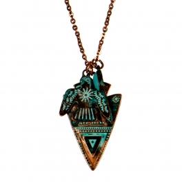 wholesale N32 thunderbird necklace set OG fashionunic