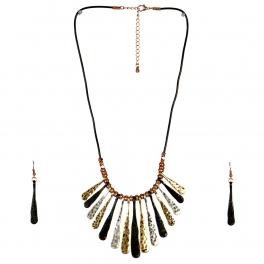 wholesale N32 Drop pendant necklace set MT fashionunic