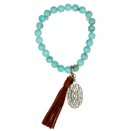 wholesale N42 Beaded tassel bracelet SBTQBR fashionunic