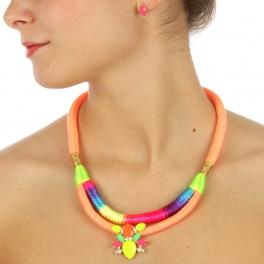 wholesale N44 Rainbow necklace set GDNMT fashionunic