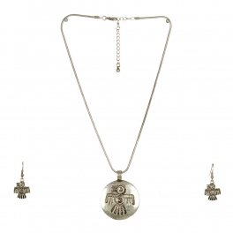 Wholesale L24 Thunderbird inscribed necklace set SB