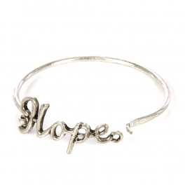 Wholesale L22 Hope metal bracelet SB fashionunic