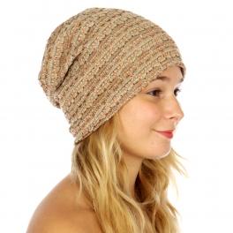 Wholesale S55 Multicolored knit beanie Dozen fashionunic