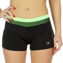 Wholesale WA00 Neon meshed active shorts N.Green