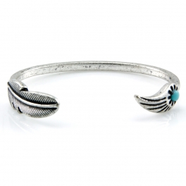 Wholesale L28C Feather and wing cuff SB fashionunic