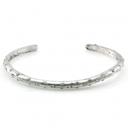 Wholesale L28C Studded metal cuff SB fashionunic
