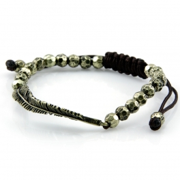 Wholesale L28E Metal beaded bracelet GB fashionunic