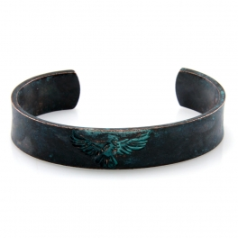 Wholesale L28E Thunderbird metal cuff OG fashionunic