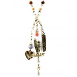 Wholesale M14B Bottled heart charms necklace TTMT1