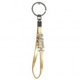 wholesale Studded FAITH on metallic keychain G