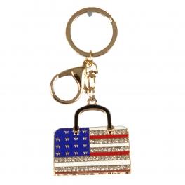wholesale USA flag handbag keychain G fashionunic