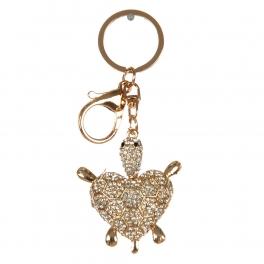 wholesale Studded sea turtle keychain fashionunic