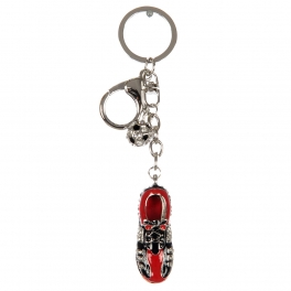 wholesale Studded soccer ball and sneaker keychain fashionunic