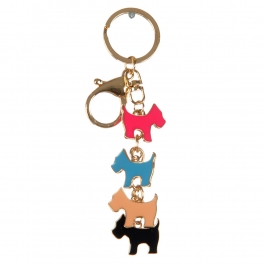 wholesale Multicolored terriers keychain fashionunic