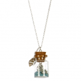 wholesale Sea life theme bottled long necklace ASM